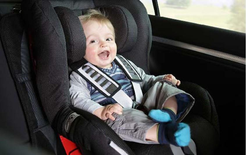 Η ασφάλειά του μωρού μου στο αυτοκίνητο