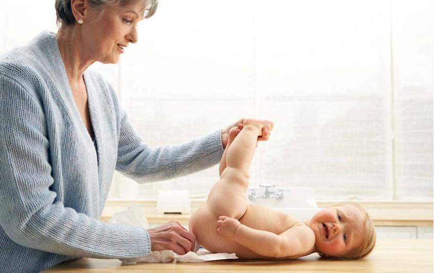 Δερματολογική περιποίηση του μωρού σας.