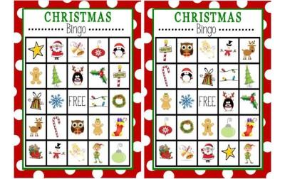 Χριστουγεννιάτικο bingo