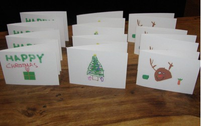 Φτιάχνουμε χειροποίητες Χριστουγεννιάτικες καρτούλες!