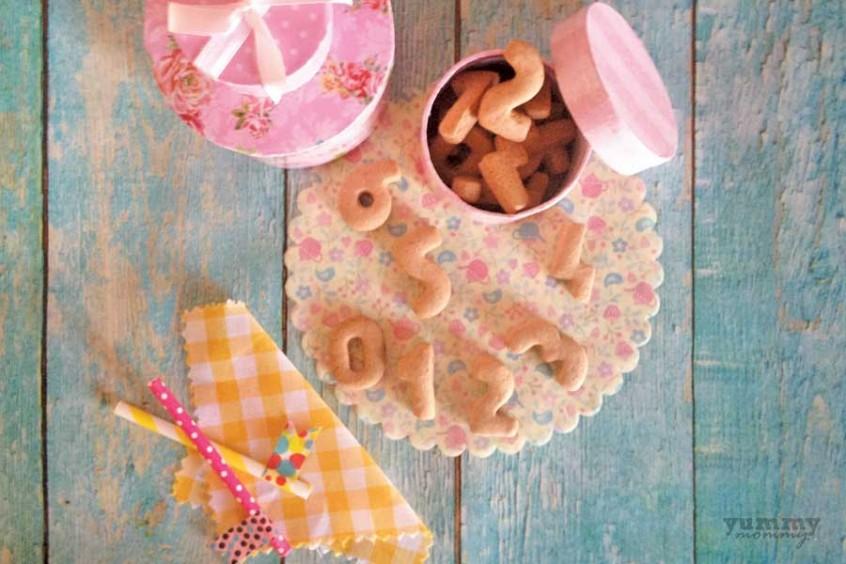 Μπισκότα με τζίντζερ, κανέλα και μπαχάρι