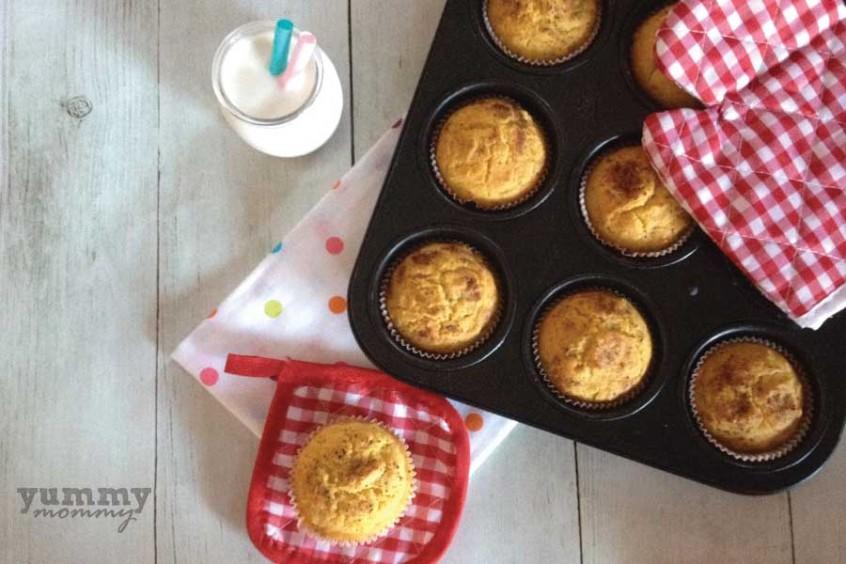 Muffins μπανάνας (χωρίς ζάχαρη)
