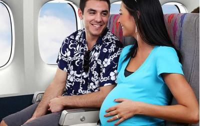 Ταξίδι με το αεροπλάνο κατά την εγκυμοσύνη