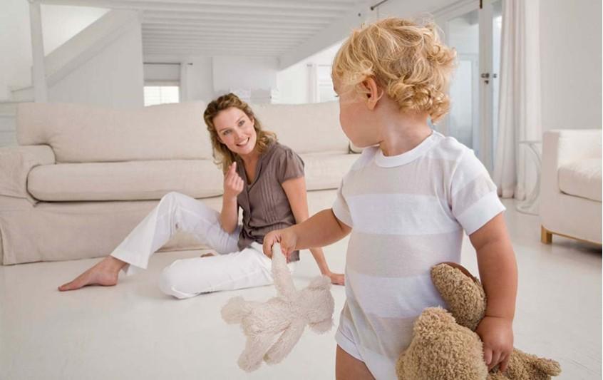 Παίζοντας και μαθαίνοντας. Υγεινός τρόπος ζωή του μωρού σας.
