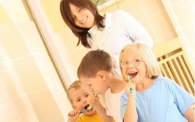 Στοματική υγιεινή των παιδιών